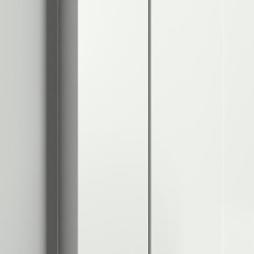 detaliu de aliniere toc si foaie coplanare cu balamale ascunse toc Portasystem Elegance