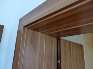 detaliu toc de usa cu panou de ajustare pentru grosime zid peste 300mm