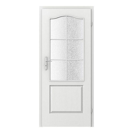 Londra grila mica - model usi lemn Porta Doors