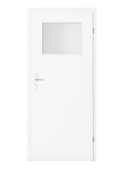 Minimax geam mic model usi interior lemn Porta Doors