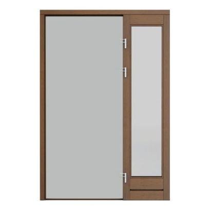 panou lateral simplu de dreapta cu sticla pentru usa de dreapta ECO