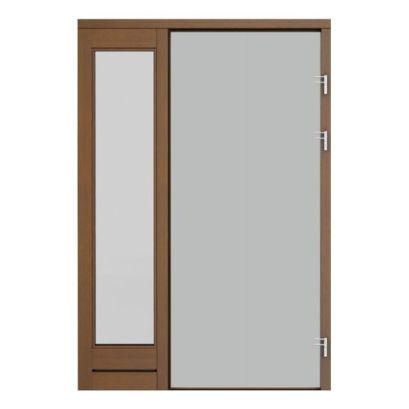 panou lateral simplu de stanga cu sticla pentru usa de dreapta ECO