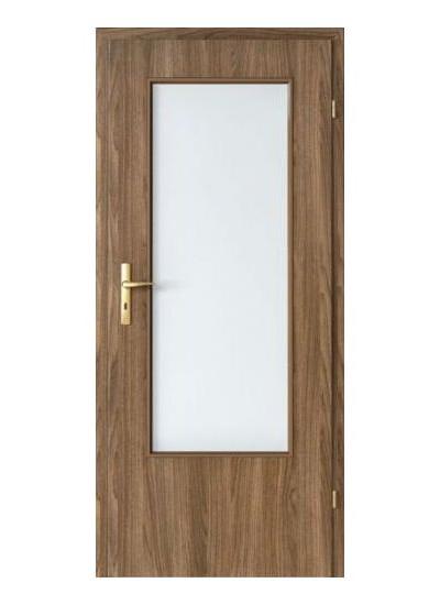 Porta Decor geam mare model usi interior lemn Porta Doors