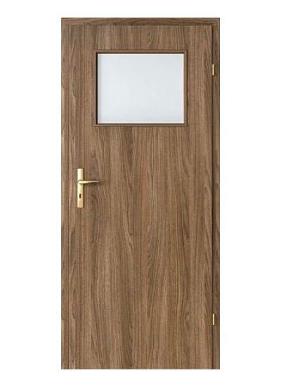 Porta Decor geam mic model usi interior lemn Porta Doors