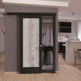 sistem de glisare pe perete pentru usi glisante interior Porta Doors 2 simplu