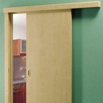 sistem de glisare pe perete pentru usi glisante interior Porta Doors 3 simplu