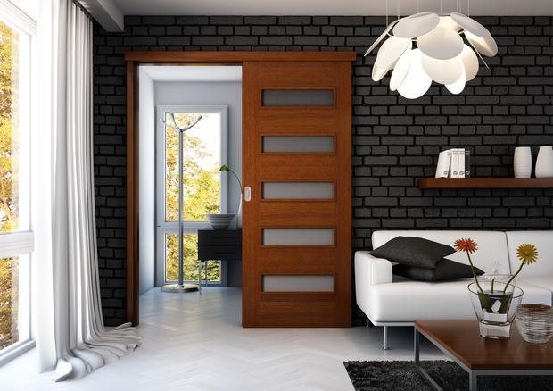sistem de glisare pe perete pentru usi glisante interior Porta Doors 4
