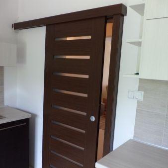 sistem de glisare pe perete pentru usi glisante interior Porta Doors 5 simplu