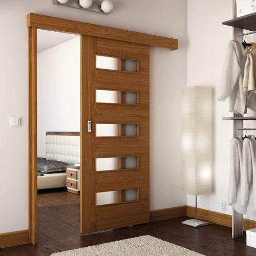 sistem de glisare Porta aplicat pe perete pentru usi glisante interior Porta Doors