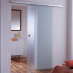 Usa glisanta din sticla simpla pentru interior