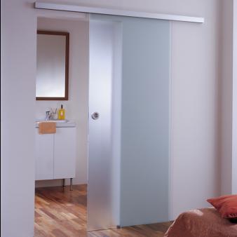 usa glisanta din sticla pentru interior cu sistem Dorma Muto
