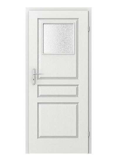 Viena geam mic - model usi lemn Porta Doors